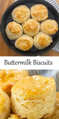 Buttermilk Recipes, Easy Buttermilk Biscuits, Butter Biscuits Recipe, Cream Cheese Biscuits, Easy Biscuits, Baking Powder Biscuits, Healthy Biscuits, Fluffy Biscuits, Buttery Biscuits