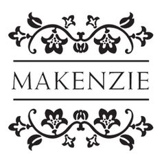 Our Makenzie Square Monogram Stamp comes with color options to add your own personal touch! Make your customized mark on envelopes, invitations, letters, and more!
