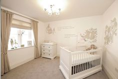 A Beatrix Potter nursery the story of Peter Rabbit going round all 3 walls. I painted this using calming neutrals I even painted little mice and bee's at the bottom of the skirting board as well as the light switch. Baby Bedroom, Baby Boy Rooms, Baby Room Decor, Baby Boy Nurseries, Kids Rooms, Girls Bedroom, Van Gogh, Beatrix Potter Nursery, Peter Rabbit Nursery