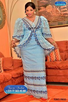 African Blouses, African Lace Dresses, African Fashion Ankara, Ethnic Fashion, African Attire, African Wear, Senegalese Styles, African Traditional Dresses, I Dress