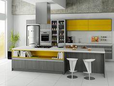 Toques de cor dão charme aos móveis planejados. Inspire-se!