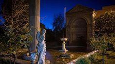 Fortuna Villa fountain