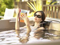 Just relax...in the best minispa Hydropool