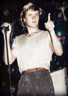 "1982. ""Don't interrupt when i'm shaking the tamborine."""