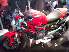 Ducati Monster Motorcycle. #NYMotorcycleShows #Bikes #Cruisers #Motorcycles