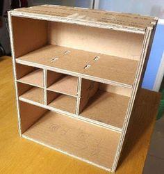 Toy Storage Diy Fabric Shelves 25 Ideas For 2019 Diy Cardboard Furniture, Cardboard Storage, Cardboard Box Crafts, Diy Toy Storage, Paper Furniture, Toilet Paper Roll Crafts, Cardboard Organizer, Coaster Furniture, Wall Storage