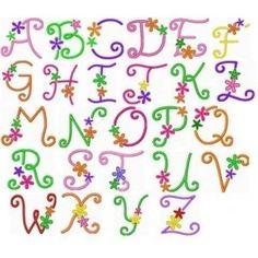 Flower Font Doodle LetteringLettering StylesCreative LetteringAlphabet