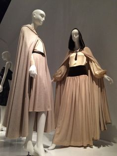 Fashioning the 70's |  Yves Saint Laurent + Halston on-view at my alma-mater, The Fashion Institute of Technology (FIT) @MuseumatFIT
