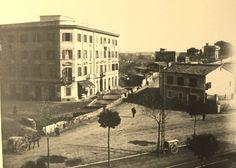 incrocio tra l'Appia Nuova e l'inizio della Tuscolana