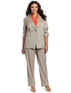 awesome Jones New York Women's Plus-Size One Button Jacket