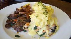 Lobster Benny - only served on Sunday at http://janerestaurant.com/..absolute debauchery ;)