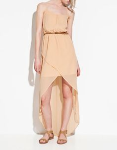 DRESS WITH FRONT OPENING - Dresses - TRF - ZARA United States