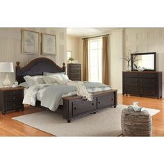 Shop for Signature Design by Ashley Maxington Black/Reddish Brown Storage Bed. Get free shipping at Overstock.com - Your Online Furniture Outlet Store! Get 5% in rewards with Club O!