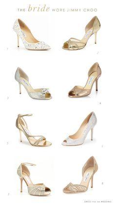 Wedding Shoes by Jimmy Choo