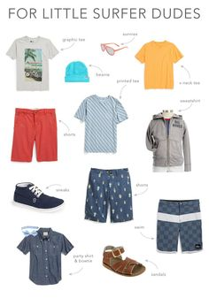 summer capsule collection for boys