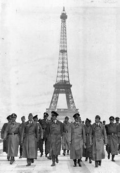 hitler marches paris