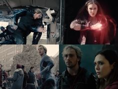 Avengers: Age Of Ultron (Trailer Screencaps part 6) Quicksilver and Scarlet Witch