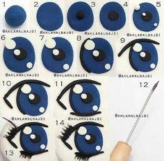 40 отметок «Нравится», 1 комментариев — Учимся украшать торты (@tortdeko) в Instagram: «Как сделать красивые глазки? #cakedekor #мастеркласс #мк #cakedecorating #tasty #торт #tutorial…»