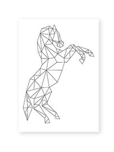 Image of Horse postcard