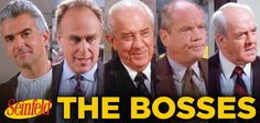Today is National Boss Day! Seinfeld has featured some iconic bosses over the years! #Seinfeld #BossDay