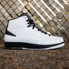 buy online f5065 97b3a Jordan Men Air Jordan 2 Retro (white  black  dark grey) Jordans Sneakers
