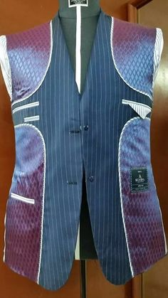 Suit lining.