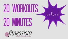 20 20-minute workouts