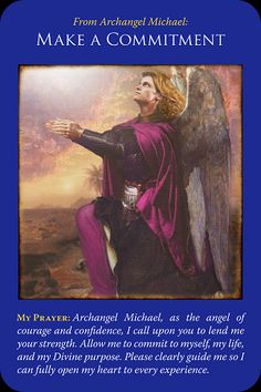 Today's Angel Card Message  Message from Make a commitment:  You have this card because you are asking how to improve a situation  Archangel Michael asks you to fully commit to your desired outcome. If you are tentative, or unsure if you're deserving or worthy enough then the final result will be unsatisfactory.  Read more: http://www.online-tarot-readings-by-amber.info/angel.html