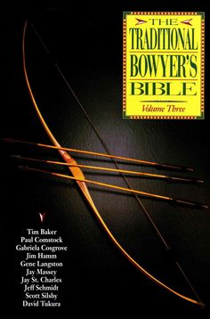The third volume in The Traditional Bowyer's Bible series covers tools, Korean and African archery, bows of the Plains Indians, custom shafts, stone points, and much more.