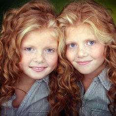 twins....super adorable ....teach twins to care for each other