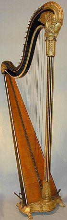 A wonderful single action Harp