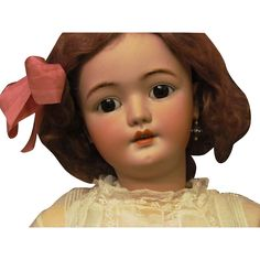 Very Classy! 29-30 Simon Halbig 1079 sleep original brown eyes! Huge Child Doll in super condition! Available on Layaway! Very special and beautiful