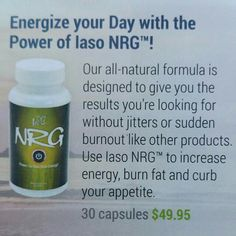 Do you drink energy drinks or know someone who does? Try these all natura, raw energy supplements for 30 days. Money back guarantee.  Iasotea.com/4128051