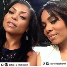 http://Empirebbk.com #Repost @taraji_p_henson1 (@get_repost)  Love these 2 beautiful ladies  @tarajiphenson and @morereginahall #tarajiphenson #cookielyon #cookie #reginahall #empirefox #empire (repost from @iamtaraji )