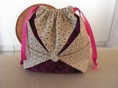 Couture loisir: Pochon Origami