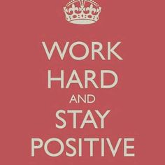 Be positive!!!! Everything will successfull!!!!!!!!!