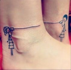 Super cute best friends tattoo <3