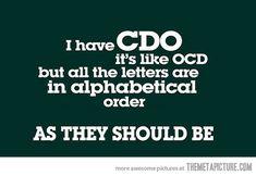 I have CDO…