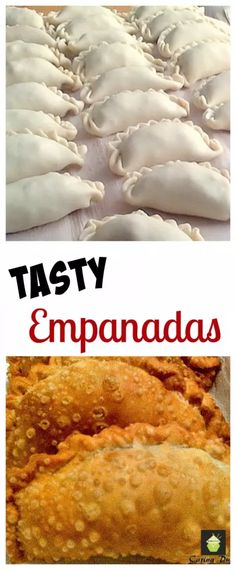 Tasty Empanadas - Great party food! Serve warm or cold, delicious either way. Sweet or savory, you choose!