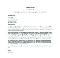 Special Education Program Assistant Teacher Cover Letter Template
