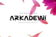 ARKADEWI Typeface by lemahijo on @creativemarket