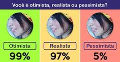 Você é um otimista, um realista ou um pessimista?