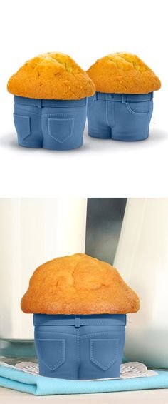 Muffin Top Cupcake Mold // too funny! #product_design