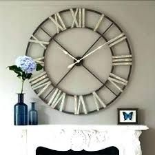 A statement clock for over a mantle or pretty much anywhere else! Decor, Black Wall Clock, Home Decor Inspiration, Large Wall Clock, Clock, Clock Wall Decor, Wall, Home Decor, Wall Clock