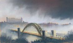 As featured in 'Get Carter' - Gateshead Car Park 1 by Roy Francis Kirton ow.ly/UuhMe #Art #Gateshead