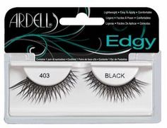 Ardell Edgy Style 403 False Lashes - Black $6.99 - from Well.ca
