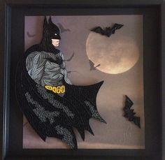Free stuff flying fairy cross stitch pattern for Batman fairy door