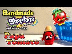 How To Make Shopkins: Papa Tomato Polymer Clay Tutorial! - YouTube