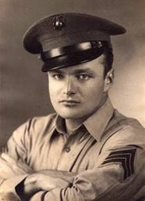 Brian Keith (1921-1997), SGT, U.S. Marine Corps WW II.  He served  (1942–1945) as an air gunner (he was a Radio-Gunner in the rear cockpit of a two-man Douglas SBD Dauntless dive-bomber in a U.S. Marine squadron), and received an Air Medal.