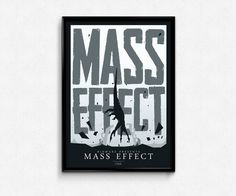 "Mass Effect ""Harbinger"" reapers illustrated poster design // mass effect reapers poster me4 mass effect liara tsoni garrus #masseffect"